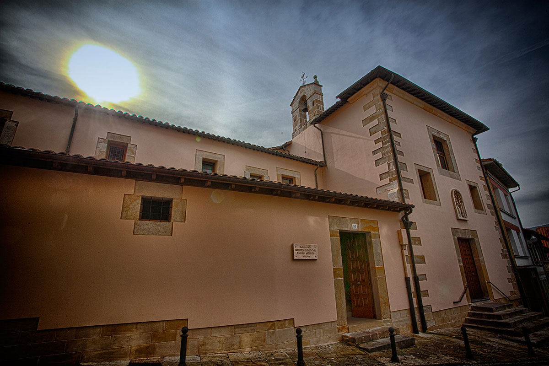 Fachada del Monasterio de la Purísima Concepción (Clarisas)