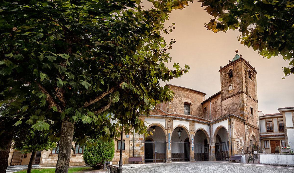 Exterior de la Iglesia Parroquial