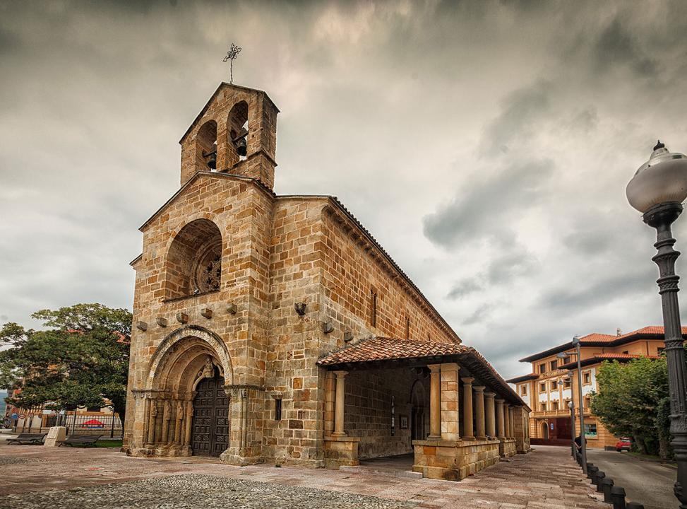 Panorámica de Santa María de la Oliva