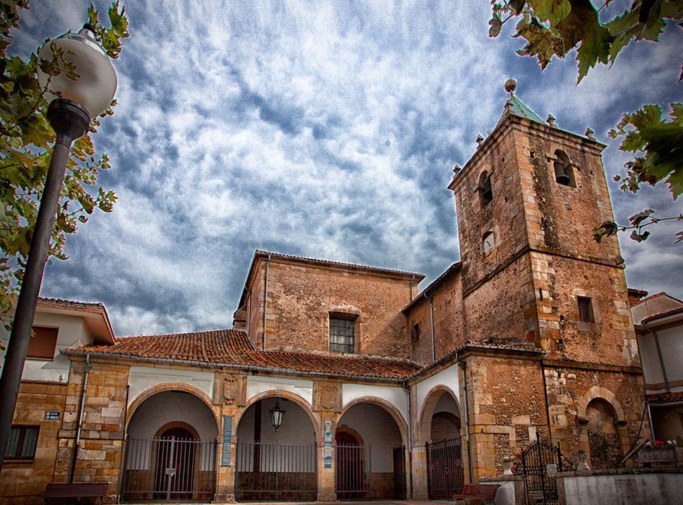 Fachada de la Iglesia Parroquial