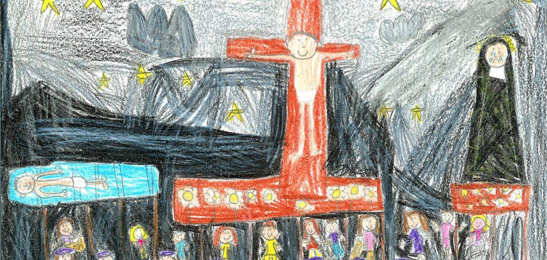 Convocado el IX Concurso de dibujo infantil Cofradía de Jesus Nazareno