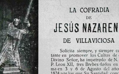 Jubileos e Indulgencias de la Cofradía del Dulce Nombre de Jesús Nazareno