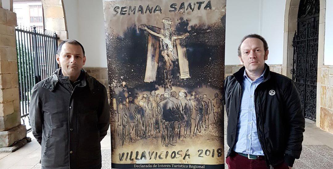 Cartel de la Semana Santa de Villaviciosa 2018